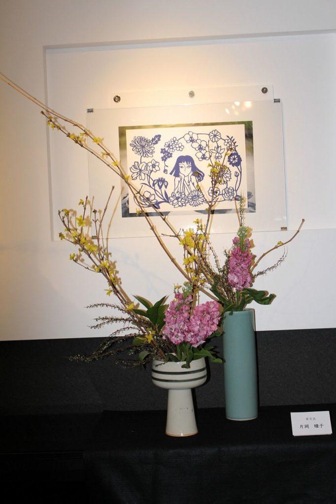 元石川高校華道部主催の「華DO展」